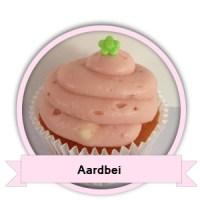 Aardbei Cupcakes bestellen - Happy Cupcakes