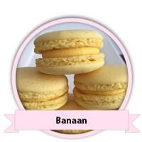 Banaan Macarons bestellen - Happy Cupcakes