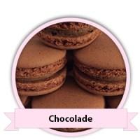 Chocolade Macarons bestellen - Happy Cupcakes