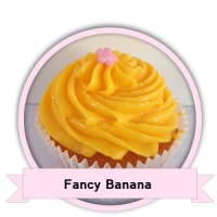 Fancy Banana Cupcakes bestellen - Happy Cupcakes
