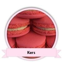 Kers Macarons bestellen - Happy Cupcakes