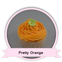Pretty Orange Cupcakes bestellen - Happy Cupcakes