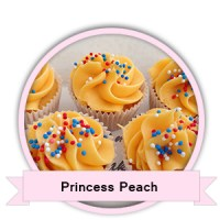 Princess Peach Cupcakes bestellen - Happy Cupcakes