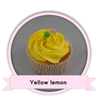 Yellow Lemon Cupcakes bestellen - Happy Cupcakes